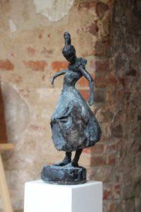 Bronze, Höhe 46 cm